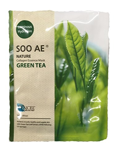 Soo Ae  - Luminous Hydration Collagen Essence Mask Green Tea
