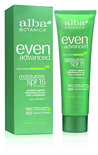 Alba Botanica - Alba Botanica™ Even Advanced Natural Moisturizer Sea Moss SPF 15 -- 2 fl oz