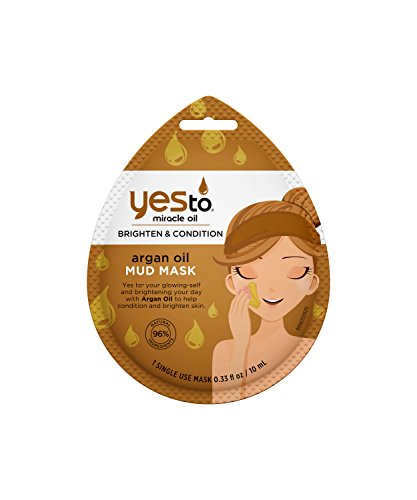 Yes To - Yes to Miracle Oil Mud Mask, Argan Oil, 1 Count