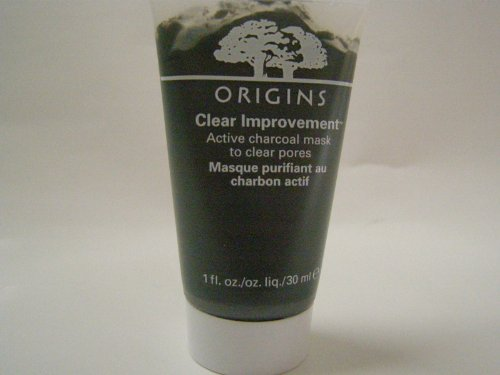 Origins - Origins Clear Improvement™ Active Charcoal Mask To Clear Pores 1 ounce Travel Size