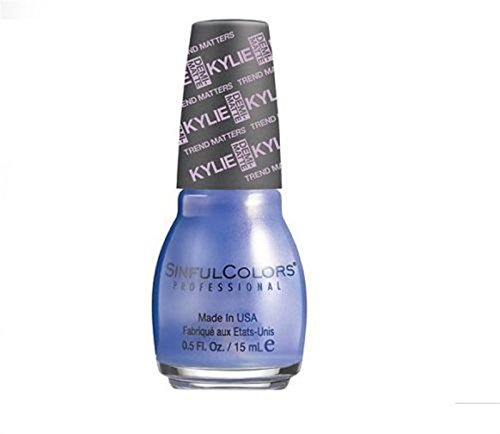 Sinful Colors - Sinful Colors Trend Matters Nail Polish #2081 - KOMMOTION (Dark Blue Pearl) .5 Oz