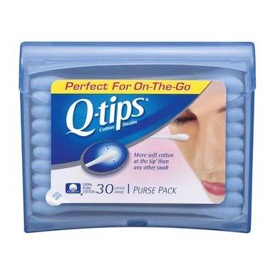 Q-Tips - Q-tips Swabs Purse Pack 30 Each