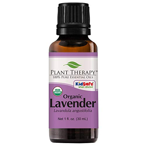 Plant Therapy - Plant Therapy Lavender Organic Essential Oil   100% Pure, USDA Certified Organic, Undiluted, Natural Aromatherapy, Therapeutic Grade   30 milliliter (1 ounce)