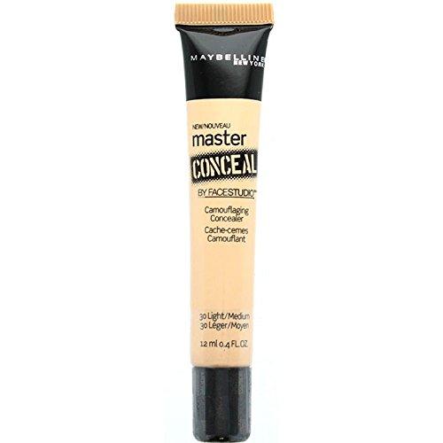 Maybelline New York - Maybelline New York Master Conceal by Facestudio, Light/Medium [30] 0.40 oz (Pack of 4)