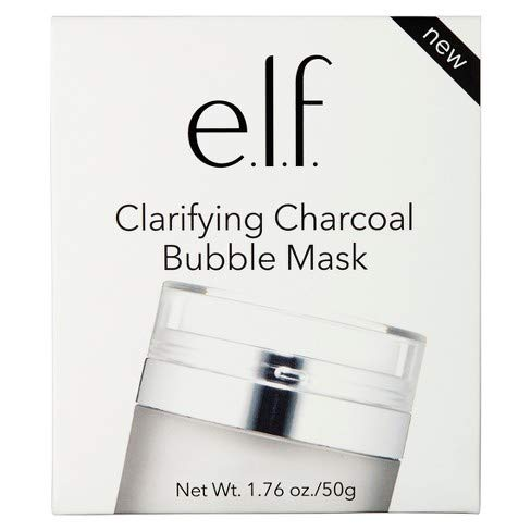 e.l.f. Clarifying - e.l.f. Clarifying Charcoal Bubble Mask, 1.76 oz