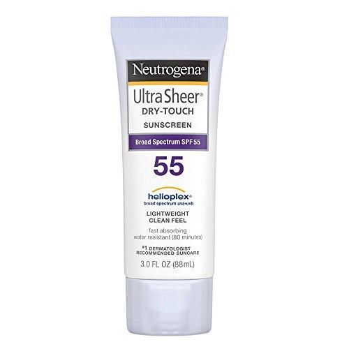 Neutrogena - Neutrogena Ultra Sheer Dry-Touch Sunscreen SPF 55 3 oz (Pack of 3)