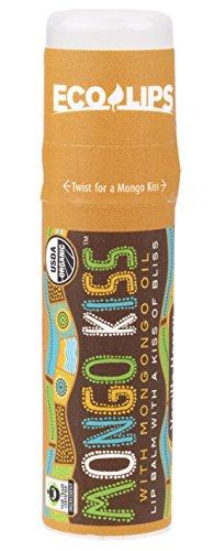 Eco Lips - Mongo Kiss Display Center Lip Balm Organic, Vanilla Honey
