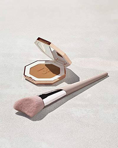 Fenty Beauty by Rihanna - Fenty Beauty by Rihanna Sun Stalk'r Bronzer 0.22 Ounce! Pressed Powder Makeup Matte Bronzer! Blendable, Buildable & Transfer Resistant! Choose From Bronzer Or Bronzer with Brush! (Shady Biz w/Brush)