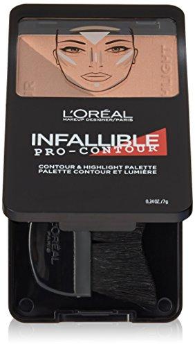 L'Oreal Paris - L'Oréal Paris Infallible Pro Contour Palette, Deep/Profound, 0.24 oz.