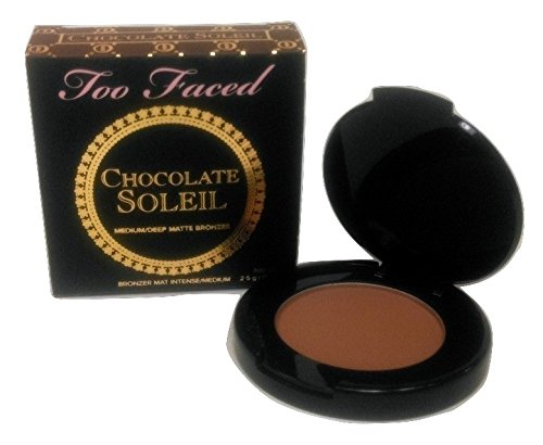 Too Faced - Too Faced Chocolate Soleil Medium Deep Matte Bronzer, Travel Size .08 oz