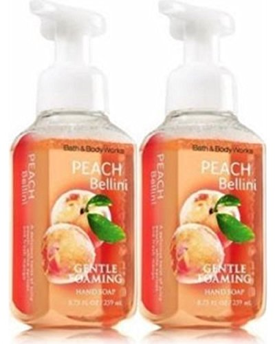 Bath & Body Works - Bath and Body Works Gentle Foaming Hand Soap, Peach Bellini 8.75 Ounce (2-Pack)