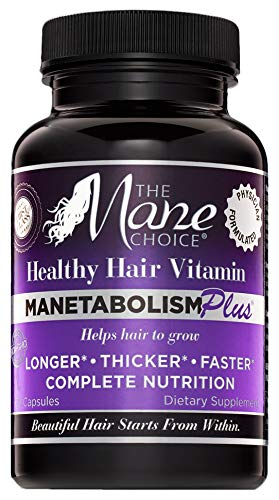null - THE MANE CHOICE MANETABOLISM Plus Healthy Hair Growth Vitamins - (60 Capsules)