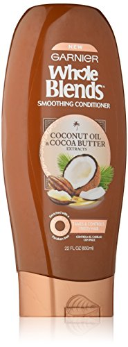 Garnier - Garnier Whole Blends Conditioner with Coconut Oil & Cocoa Butter Extracts, 22 fl. oz.