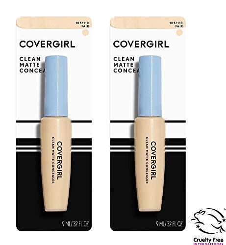 COVERGIRL - Covergirl Clean Matte Concealer, Fair 110, 0.37 Fl Oz, 2 Count