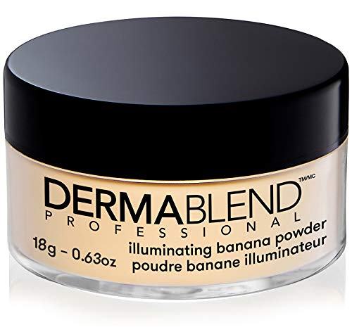 Dermablend - Dermablend Illuminating Banana Powder, Loose Setting Powder, 0.63 Oz.