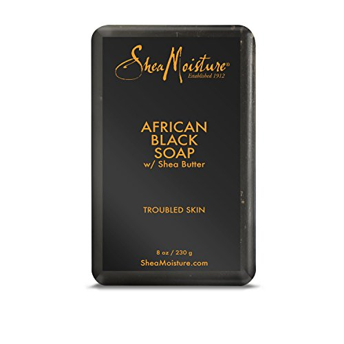 Shea - African Black Soap With Shea Butter