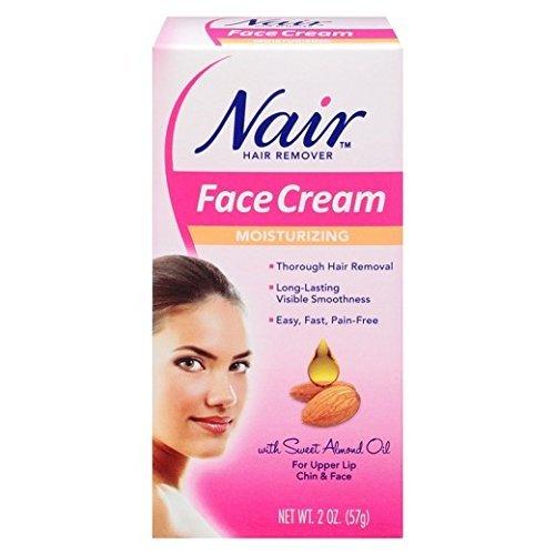 Nair - Nair Moisturizing Face Cream, 2 Ounce