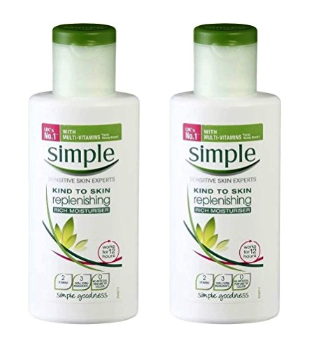 Simple - Simple Kind To Skin Replenishing Rich Moisturizer, 4.2oz, Pack of 2