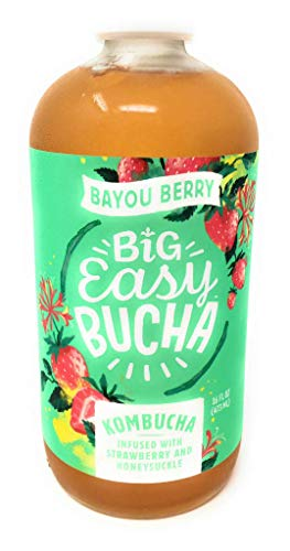 Big Easy Bucha Big Easy Bucha, Kombucha Bayou Berry, 16 Fl Oz