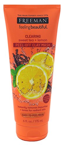 Freeman - Facial Mask Sweet Tea & Lemon Peel Away