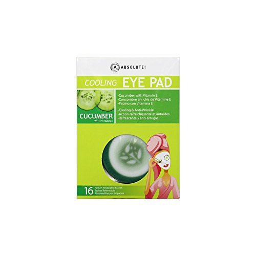 Absolute - Cucumber Cooling & Anti-Wrinkle Cooling Eye Pads