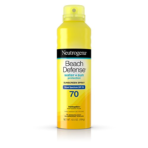 Neutrogena - Neutrogena Beach Defense Body Spray Sunscreen with Broad Spectrum SPF 70, Water-Resistant and Oil-Free Sun Protection, 6.5 oz