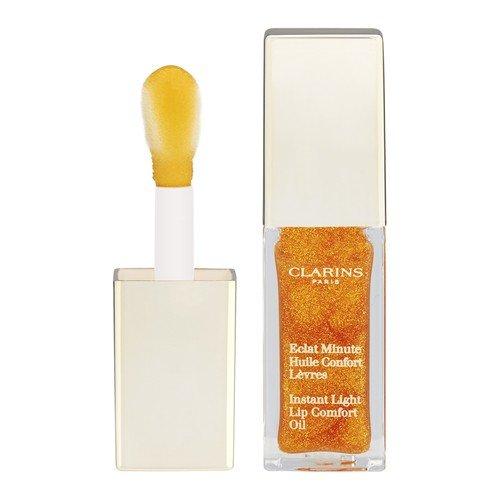 Clarins - Instant Light Lip Comfort Oil, Honey Glam