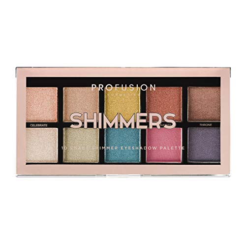 Profusion Cosmetics - Profusion Cosmetics Mini Artistry 10 Shade Eyeshadow Palette, Shimmers