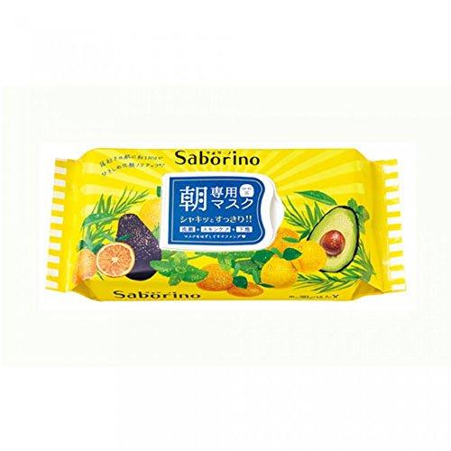 SABORINO - SABORINO Morning Face Mask 32 Sheets, 0.77 Pound