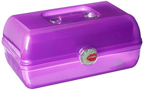 Caboodles - Caboodles On the Go Girl Classic Case, Purple, 2.4 Pound