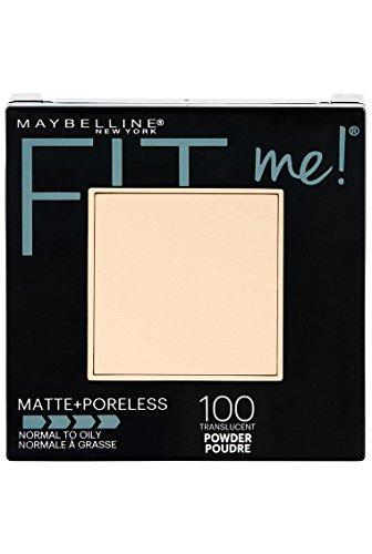 Maybelline - Fit Me Matte + Poreless Powder Makeup, Translucent