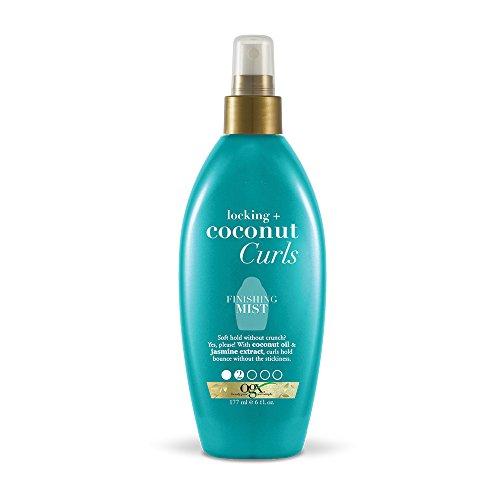 Organix - OGX Locking + Coconut Curls Finishing Mist, 6 Ounce Bottle, Curl Spray