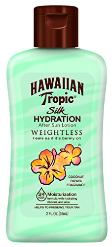 Hawaiian Tropic - Hawaiian Tropic Silk Hydration Weightless After Sun Gel Lotion With Hydrating Aloe And Gel Ribbons, TSA Approved Size, 2 Ounce