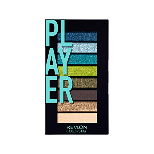 Revlon - Revlon Colorstay Looks Book Eyeshadow Palette, Player, 3.4 Ounce