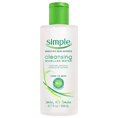 null - Simple Micellar Cleansing Water 6.7 Ounce (198ml) (6 Pack)