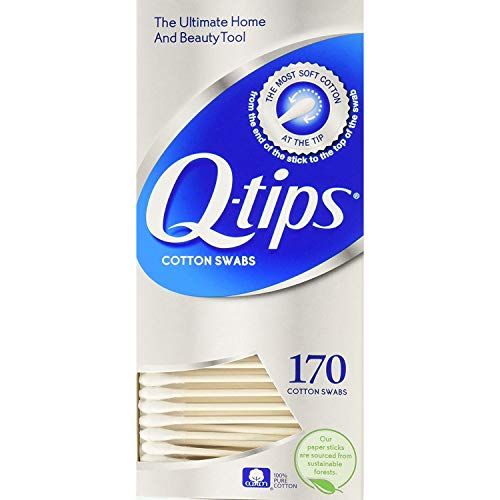 Q-Tips - Q-tips Cotton Swabs, 170 ct