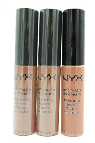 NYX - Soft Matte Lip Cream, Nude Collection