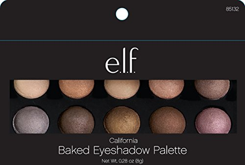 e.l.f. Cosmetics Baked Eyeshadow Palette, California