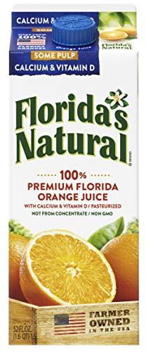Florida's Natural - Florida's Natural 52oz NFC Orange Juice, Some Pulp Plus Calcium