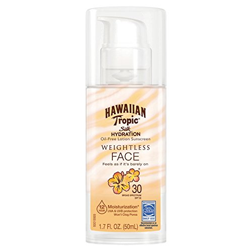 Hawaiian Tropic Silk Hydration Weightless Sunscreen Lotion SPF 30