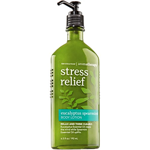 Bath & Body Works - Bath & Body Works Aromatherapy Stress Relief - Eucalyptus + Spearmint Body Lotion, 6.5 Fl Oz