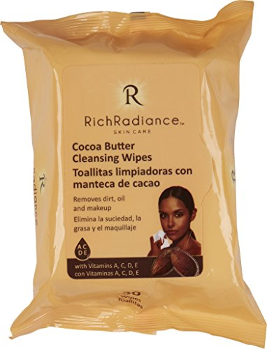 Rich Radiance - Cocoa Butter Cleansing Wipes