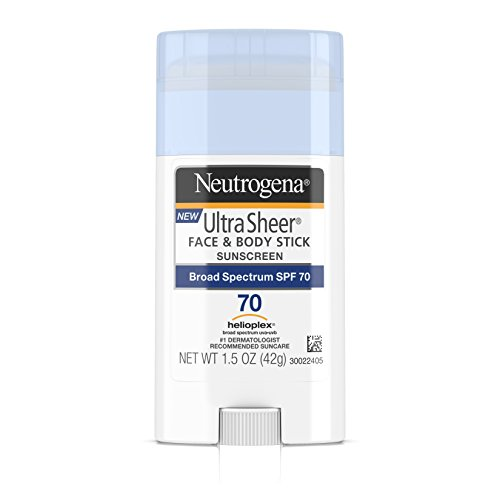 Neutrogena - Ultra Sheer Non-Greasy Sunscreen Stick for Face & Body, Broad Spectrum SPF 70