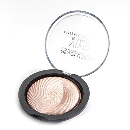 Makeup Revolution - Makeup Revolution Vivid Baked Highlighter Powder, Peach Lights