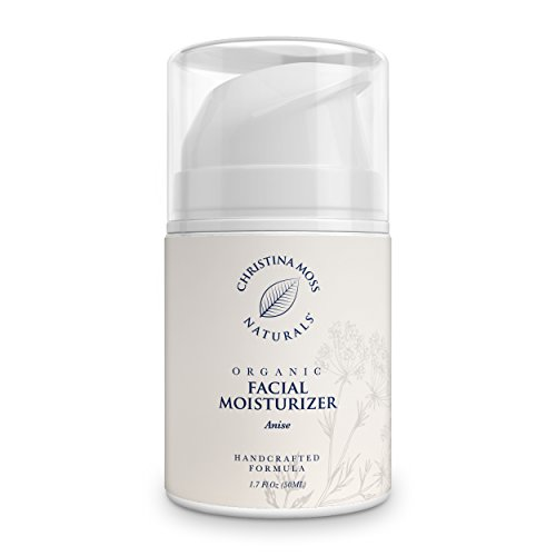 Christina Moss Naturals - Facial Moisturizer - Organic & Natural Ingredients Face Moisturizing Cream for All Skin Types - Sensitive, Oily, Dry, Severely Dry - Anti-Aging & Anti-Wrinkle for Women & Men - Christina Moss Naturals
