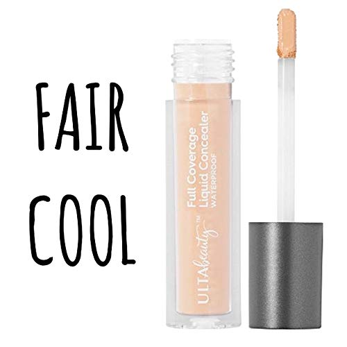 Ulta - Ulta Beauty Full Coverage Liquid Concealer Fair Cool .08 Ounce Full Size