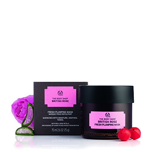 The Body Shop - British Rose Fresh Plumping Mask