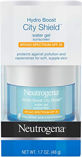 Neutrogena - Hydro Boost City Shield Water Gel, Hydrating Hyaluronic Acid, Spf 25