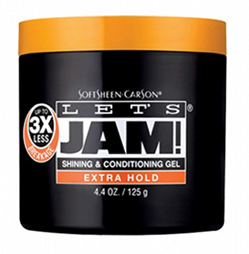 Lets Jam - Lets Jam! Shining & Conditioning Gel Extra Hold, 4.4 oz (Pack of 2)