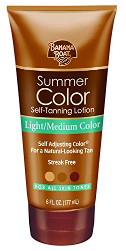 Banana Boat - Self Tanning Sunless Lotion, Light Medium